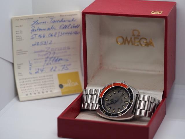 Omega Seamaster 200, Ref. 166.068, Poppy,  Full Set aus 1975