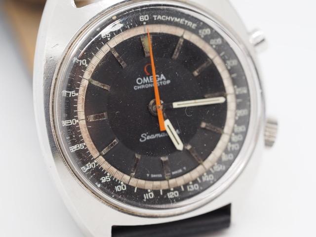 Omega Seamaster Chronostop Ref. 145.007, Kaliber 865, ca. 1968