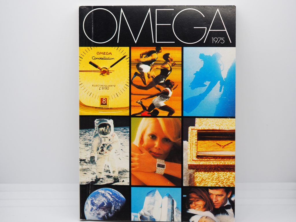 Omega Katalog aus der Schweiz, 1975