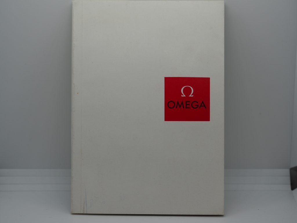 Omega Uhrenkatalog/ Kollektion aus 1959 in deutsch