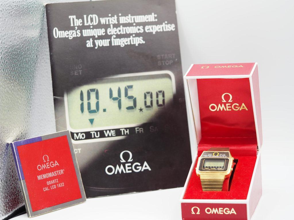 Omega Memomaster Ref. MD 382.0801, Kaliber LCD 1632, wie neu