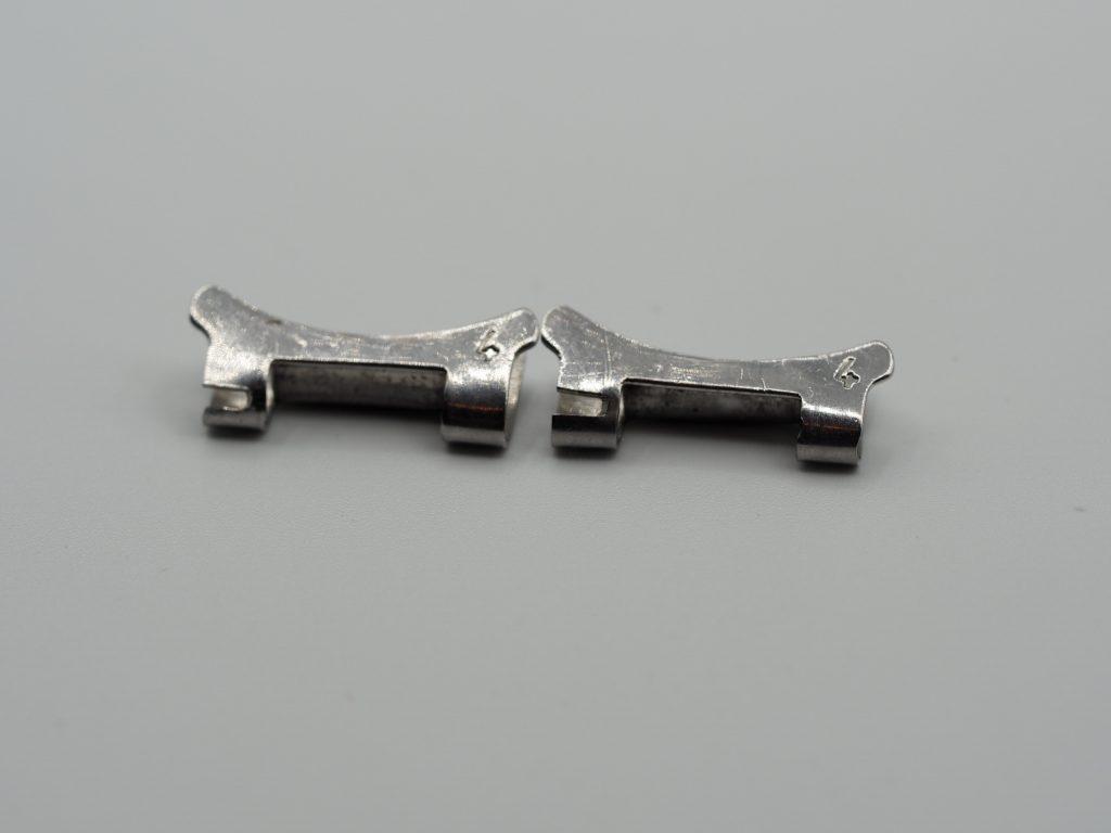 Omega Endstücke No. 4, 18mm, der 1.Generation für 7077 + 7912 Armband