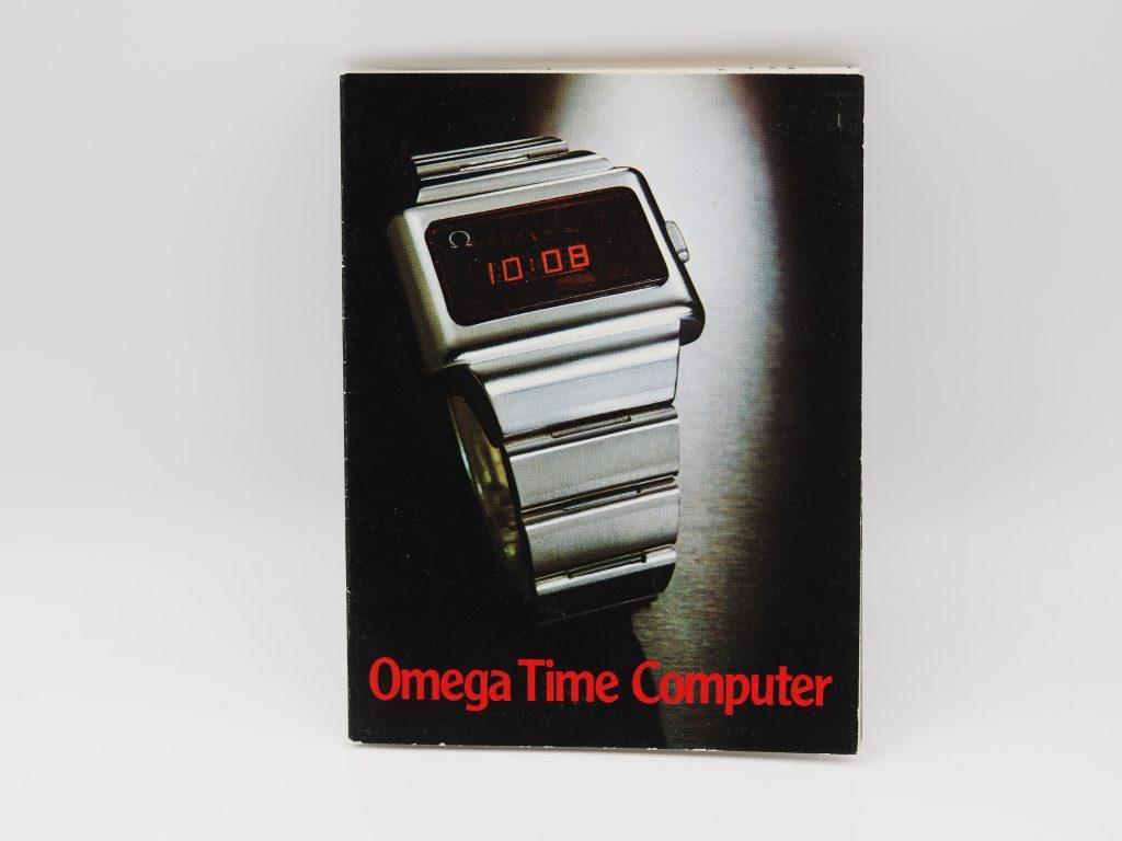 Bedienungsanleitung Omega Time Computer in deutsch