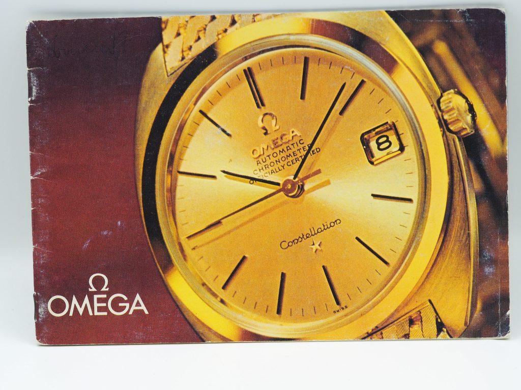 Omega Katalog mit Preisliste ca. 1966 in deutsch mit Speedmaster Ed White + Professional