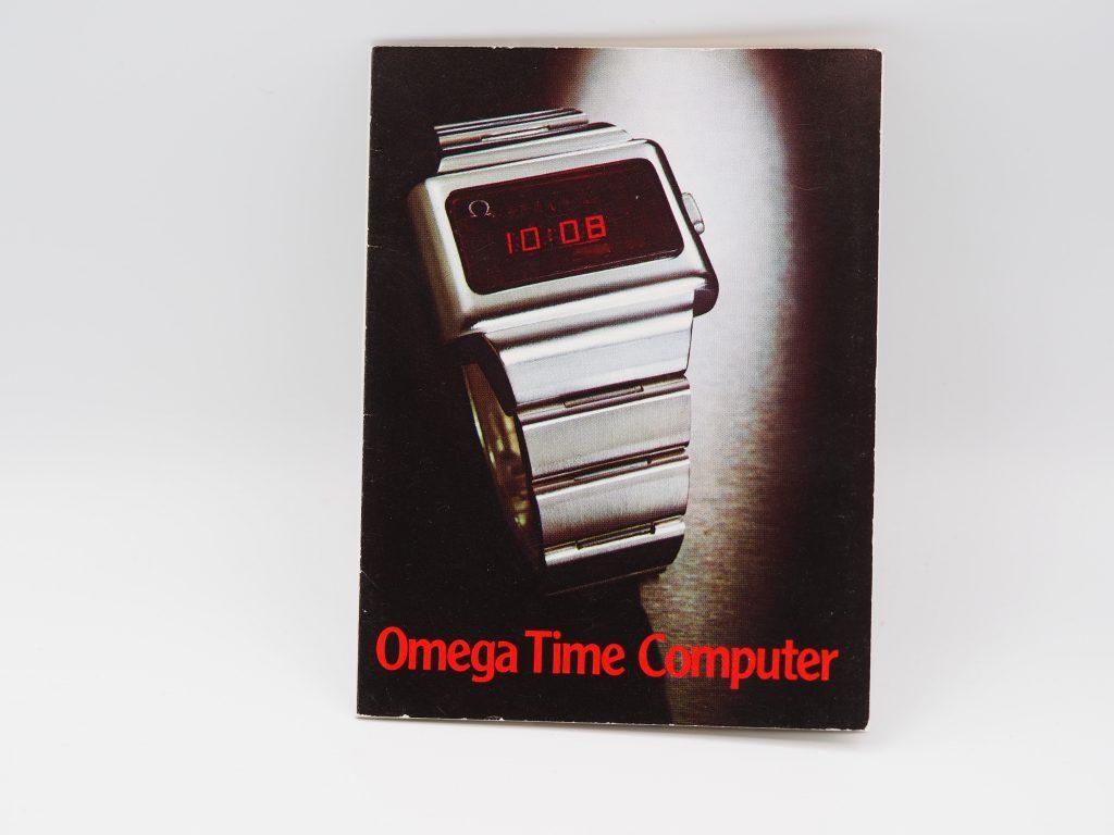 Bedienungsanleitung Omega Time Computer in englisch
