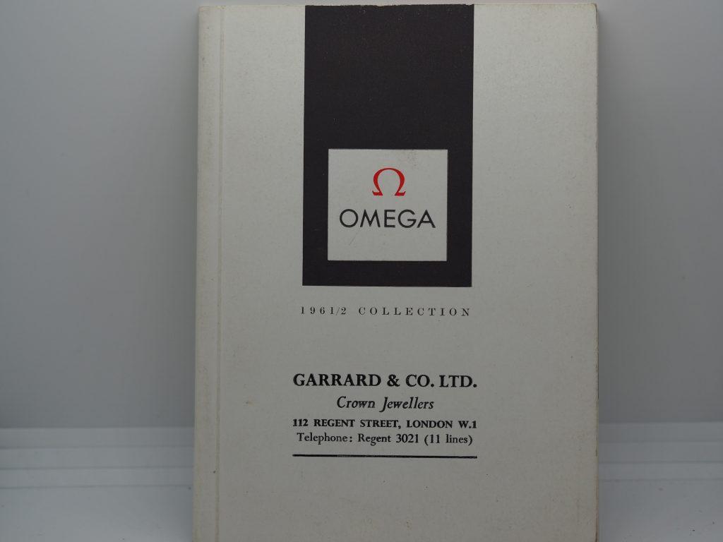 Omega Collektion/Katalog+Preisliste 1961-62 mit CK2913+2998 in englisch