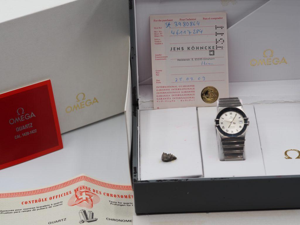Omega Constellation Chronometer Ref. 1980136/ 3980864, Kaliber 1422, Full Set aus 1982, verkauft erst 2009