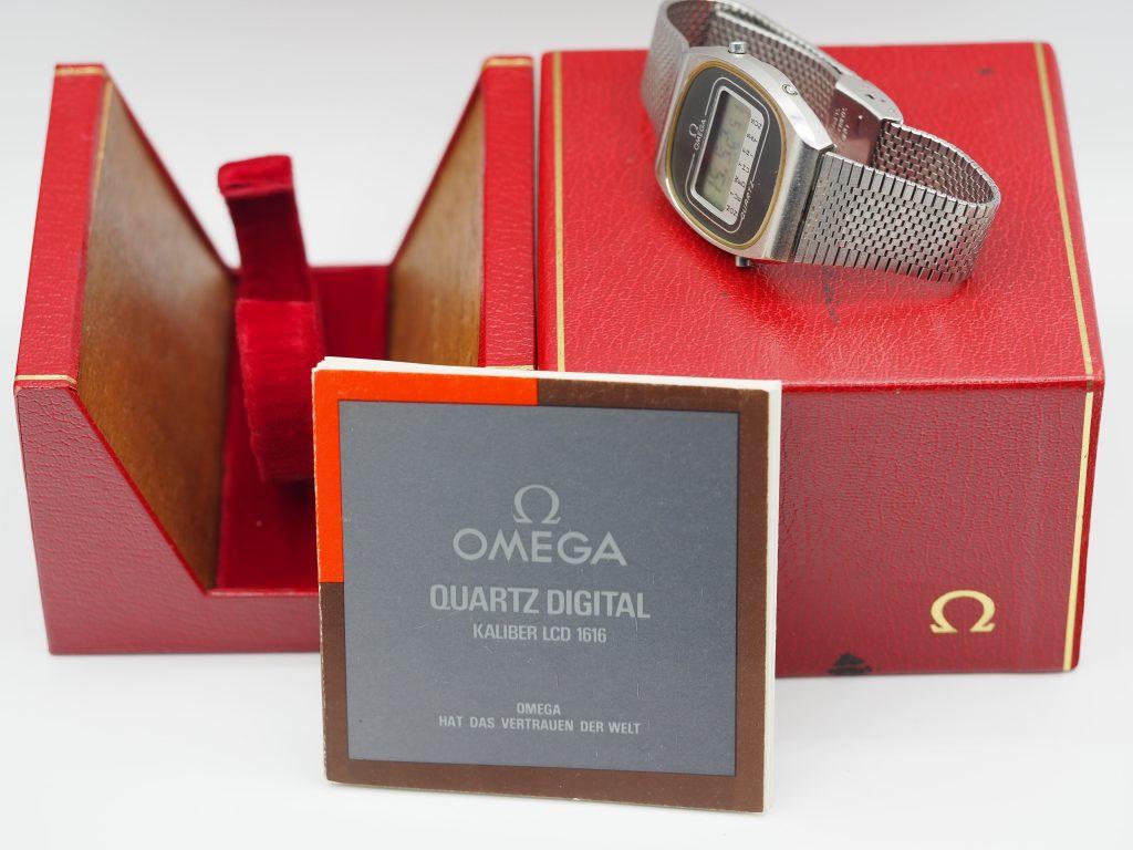 Omega Quartz Digital Ref. 196.0074/ 398.0850, Kaliber 1616 aus ca. 1978
