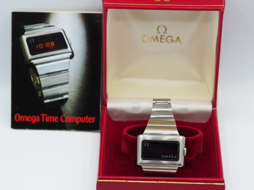 Omega Time Computer 1. Generation, Kaliber 1600,  Ref. 196.0020 aus ca. 1972