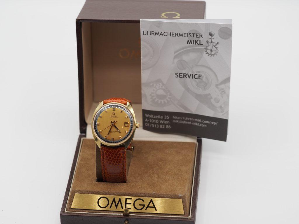 Omega Seamaster Cosmic Ref. 166.026, Kaliber 565, Omega Full Service, aus ca. 1969