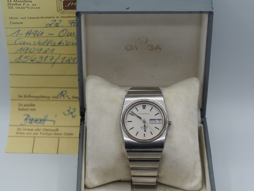 Omega Ref. 196.0015/ 396.0809 Constellation Quartz, Kaliber 1310 aus 1979